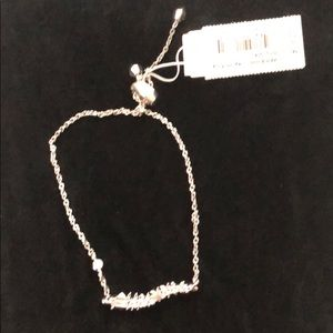 Kendra Scott Marianne rhodium bracelet NWT